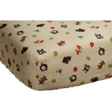 Forest Friends Fitted Sheet