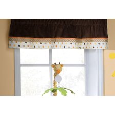 Sunny Safari Rod Pocket Tailored Curtain Valance