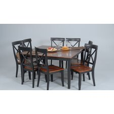 <strong>Comfort Decor</strong> Contemporary 7 Piece Dining Set