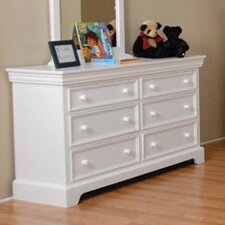Color Box 6-Drawer Dresser