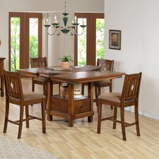 <strong>Comfort Decor</strong> Urban 5 Piece Counter Height Dining Set