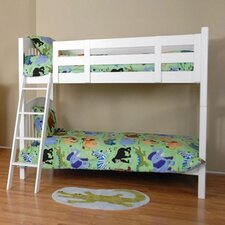 Color Box Twin over Twin Bunk Bed