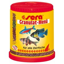 Granulate Menu Fish Food - 150ml