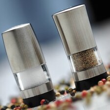 <strong>BergHOFF International</strong> Mini Salt and Pepper Shaker Set