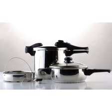 <strong>BergHOFF International</strong> 7 Piece Pressure Cooker Set