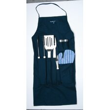 <strong>BergHOFF International</strong> Orion 9-Piece BBQ Set with Apron