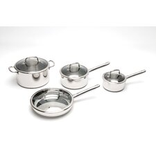 <strong>BergHOFF International</strong> Boreal Stainless Steel 8-Piece Cookware Set