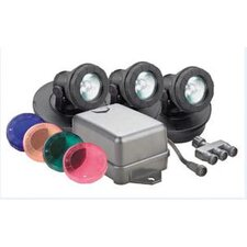 Submersible Halogen Pond Light Set