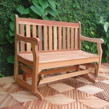 Baltic Wood Garden Glider Bench