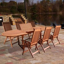 <strong>Vifah</strong> Vista 7 Piece Dining Set