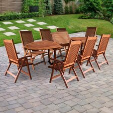 <strong>Vifah</strong> Vista 9 Piece Dining Set