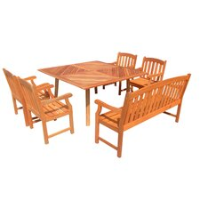 <strong>Vifah</strong> 6 Piece Dining Set