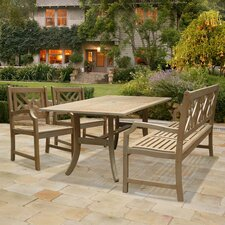 Renaissance 4 Piece Dining Set