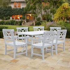 <strong>Vifah</strong> Bradley 7 Piece Dining Set