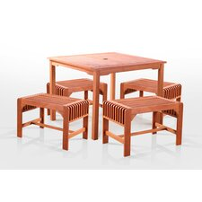 <strong>Vifah</strong> 5 Piece Dining Set