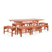 <strong>Vifah</strong> 9 Piece Dining Set