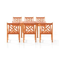 Caicos 7 Piece Dining Set