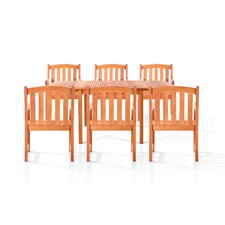 Sydney 7 Piece Dining Set