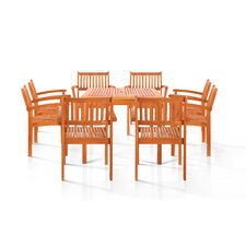 <strong>Vifah</strong> Pasadena 9 Piece Dining Set