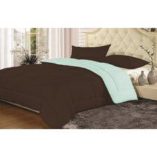 Simple Elegance All Season Reversible Down Alternative Comforter