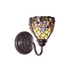 Jacqueline Fancy 1 Light Wall Sconce