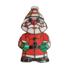 Happy Santa Accent Table Lamp