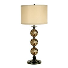 "Mosaic 3 Ball 31"" H Table Lamp with Drum Shade"