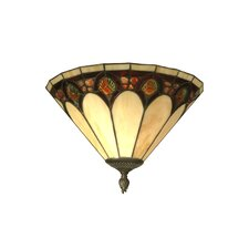 Crystal Jeweled 1 Light Wall Sconce
