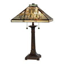 "Oak Park 25"" Table Lamp"