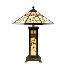 """Mission Hills 25"""" H Table Lamp with Empire Shade"""