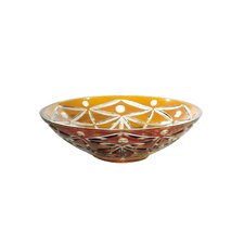 Bowl in Glossy Amber