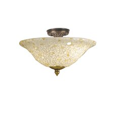 Mosaic Semi Flush Mount