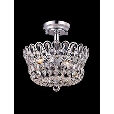 Brinkley 4 Light Semi Flush Mount