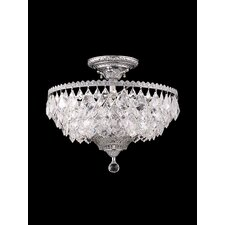 <strong>Dale Tiffany</strong> East Bilney 6 Light Semi Flush Mount