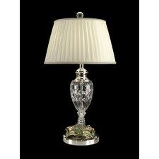"28.5"" H 1 Light Crystal Table Lamp"