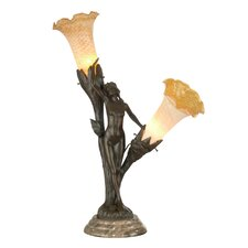 <strong>Dale Tiffany</strong> Floral Lady 2 Light Accent Lamp