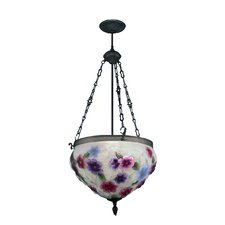 Cosmos Pairpoint 3 Light Foyer Inverted Pendant