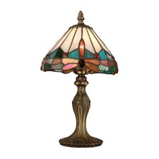 Tiffany Jewel Dragonfly 1 Light Table Lamp