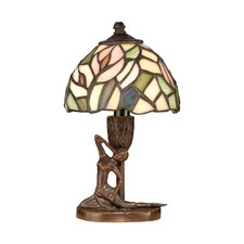 Tiffany Lady 1 Light Table Lamp