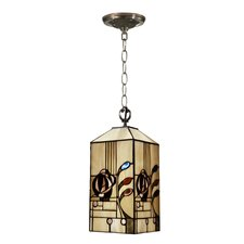 <strong>Dale Tiffany</strong> Rose Boudoir Mack 1 Light Mini Foyer Pendant