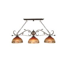 Garden Kitchen Island Pendant in Antique Golden Sand