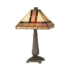 <strong>Dale Tiffany</strong> Mission 2 Light Table Lamp
