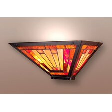 <strong>Dale Tiffany</strong> Mission/Prairie Series 1 Light Wall Sconce