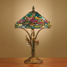 <strong>Dale Tiffany</strong> Antiques Roadshow Evergreens Dunkirk  Table Lamp