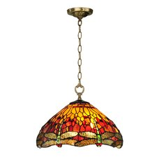 Reves Dragonfly 1 Light Pendant
