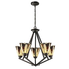 Ripley 5 Light Chandelier