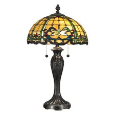<strong>Dale Tiffany</strong> Cabrini 2 Light Table Lamp