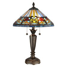 """Barranca 24.25"""" H Table Lamp with Empire Shade"""