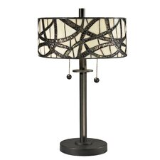 <strong>Dale Tiffany</strong> Willow Cottage 2 Light Table Lamp