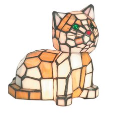 <strong>Dale Tiffany</strong> Tiger Cat 2 Light Accent Table Lamp